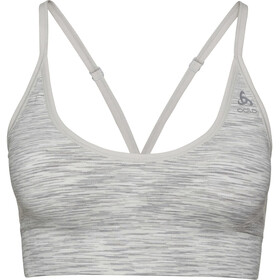 Odlo Padded Seamless Soft 2.0 Sport BH Damen light grey melange